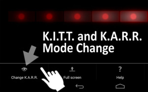 KITT scanner for Android