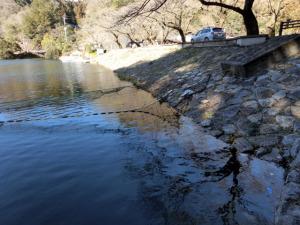 鎌北湖と顔振峠