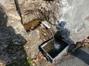 鎌北湖の湧き水