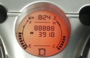 デュアリス88,888km突破