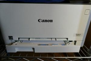 Canon LBP612Cのトレイを加工